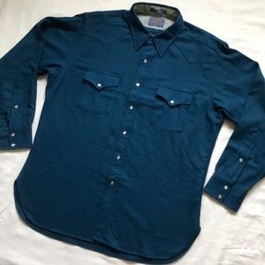 Pendleton Western Button Down Shirt with Snaps